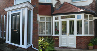 Double glazing windows manchester upvc doors manchester for Double glazed porches