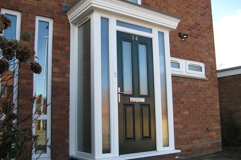 First Manchester Glass Door