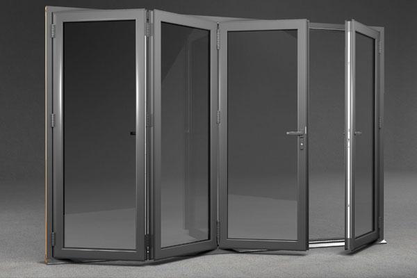 Warmcore bi-folding doors