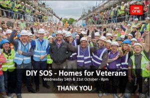 DIY SOS Homes for Veterans
