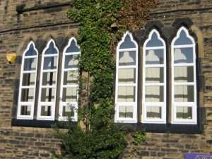 Gothic Arched PVCu windows School project