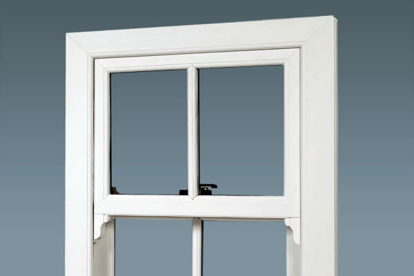 PVCu vertical sliding sash windows