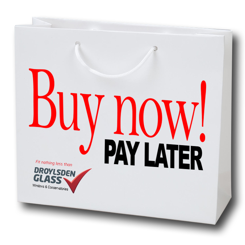 Windows on finance, Conservatory finance, Buy now pay later, Buy now pay later windows,