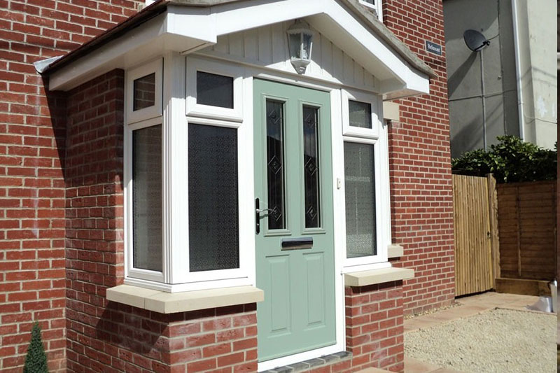 Upvc Stable Composite Front And Back Doors