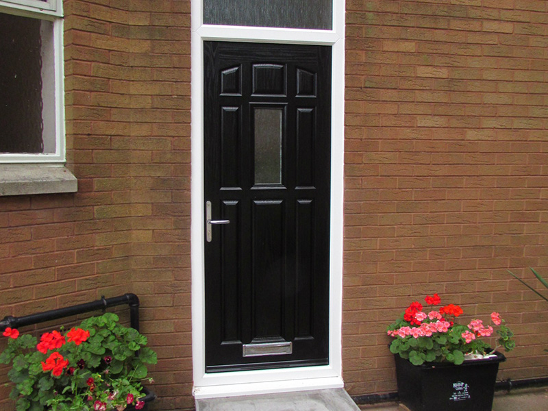 Upvc stable composite front and back doors for Upvc composite doors