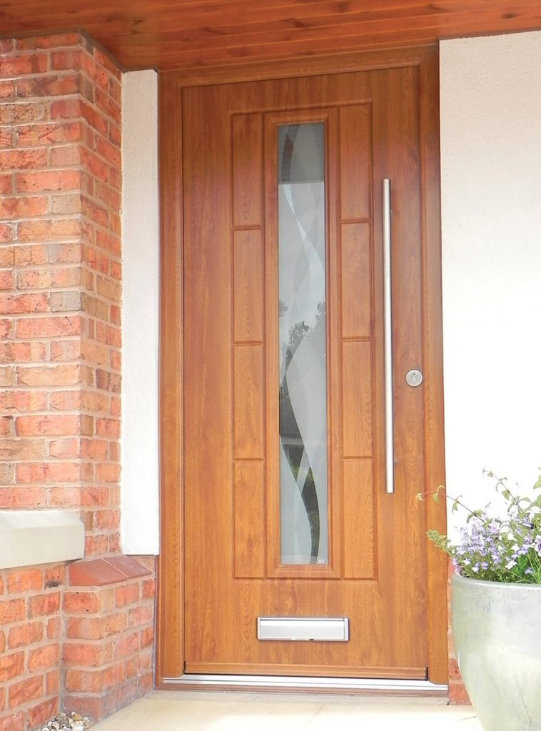 RockDoor oak-effect composite