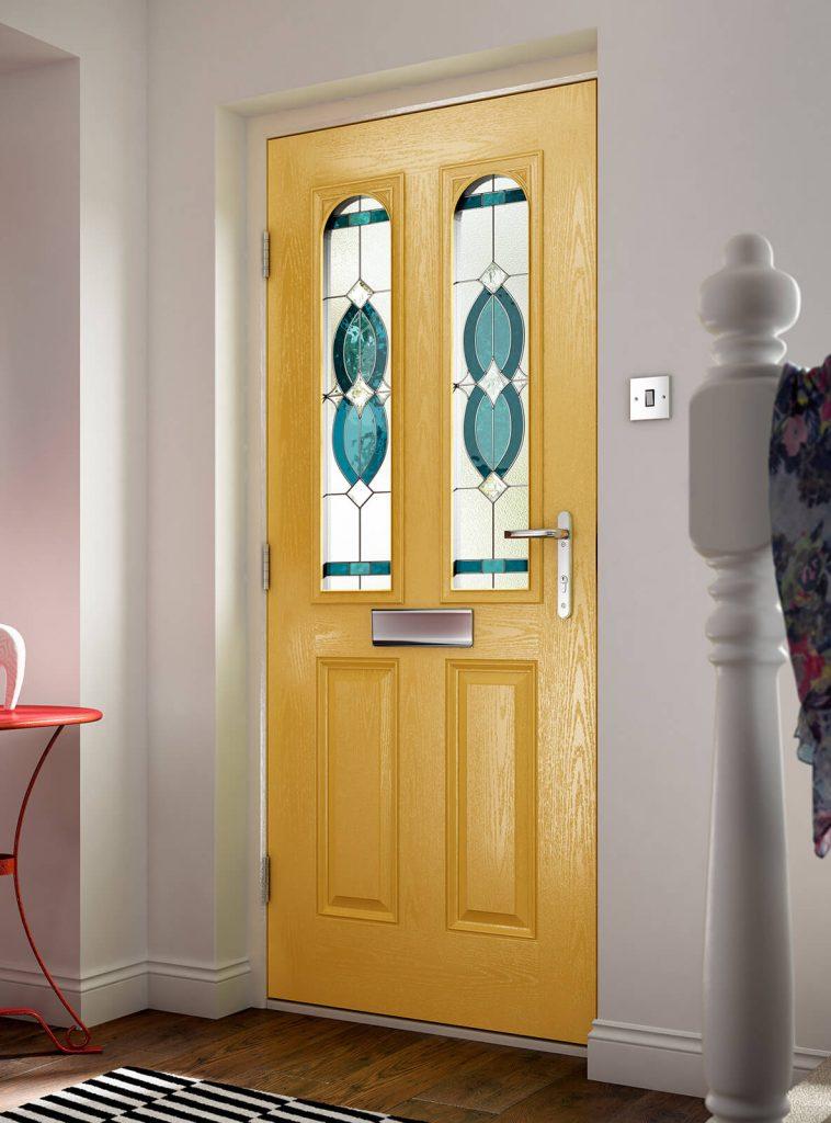 Yellow composite door