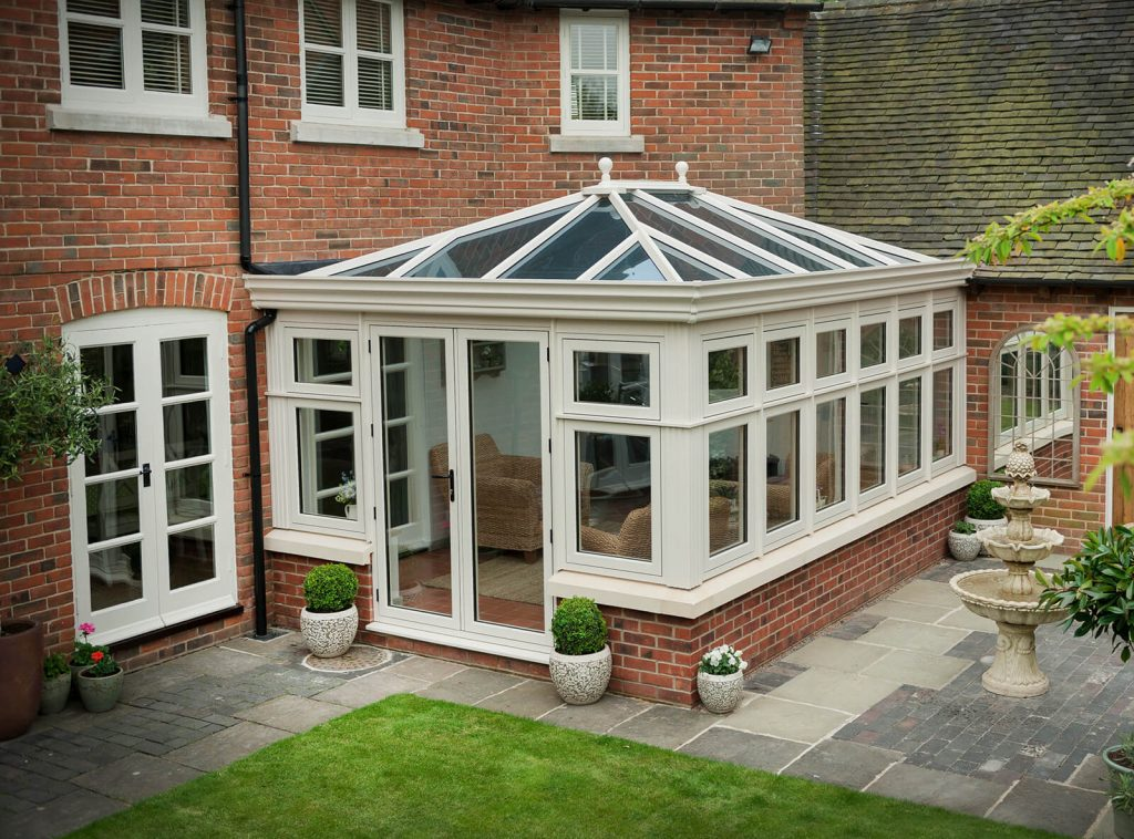 Cream residence collection conservatory