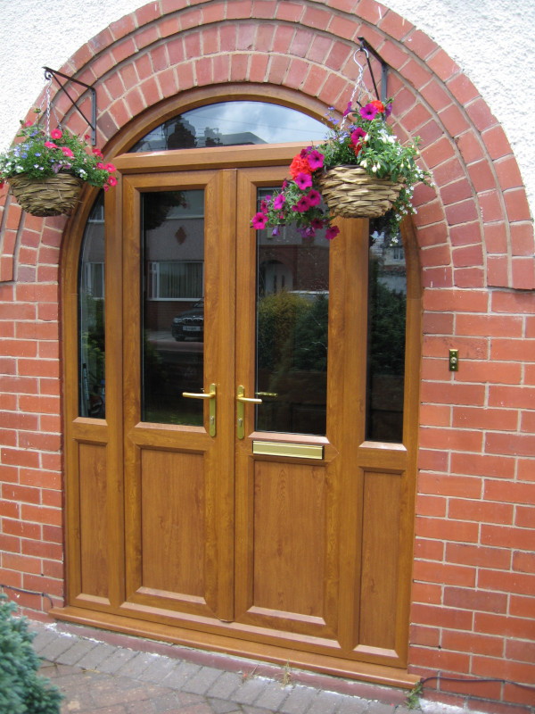 Oak-uPVC-French-doors