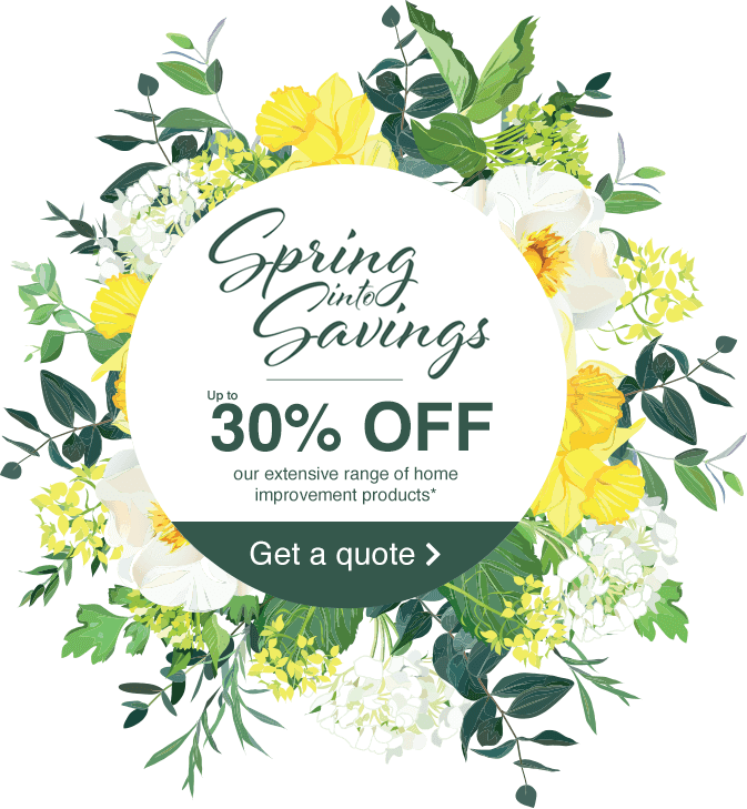Spring into savings - up to 30% off