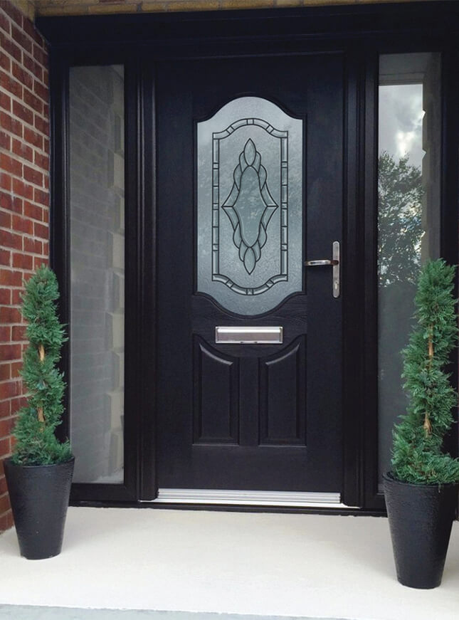 rockdoor composite entrance door