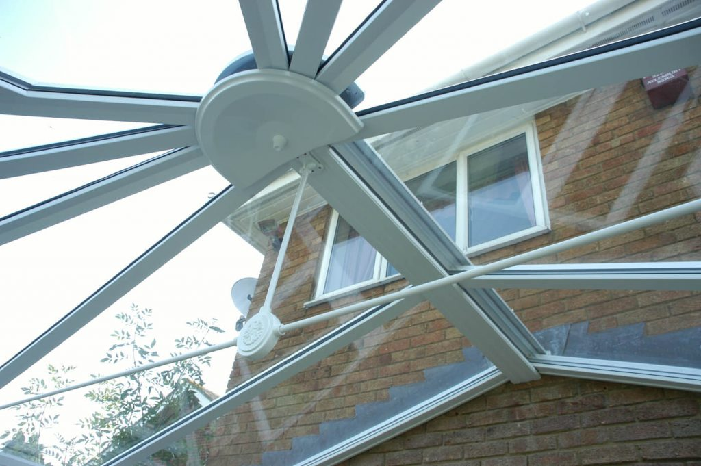 Eurocell glass conservatory roof