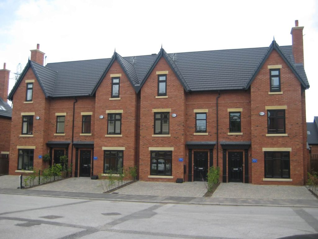 New build project in Worsley