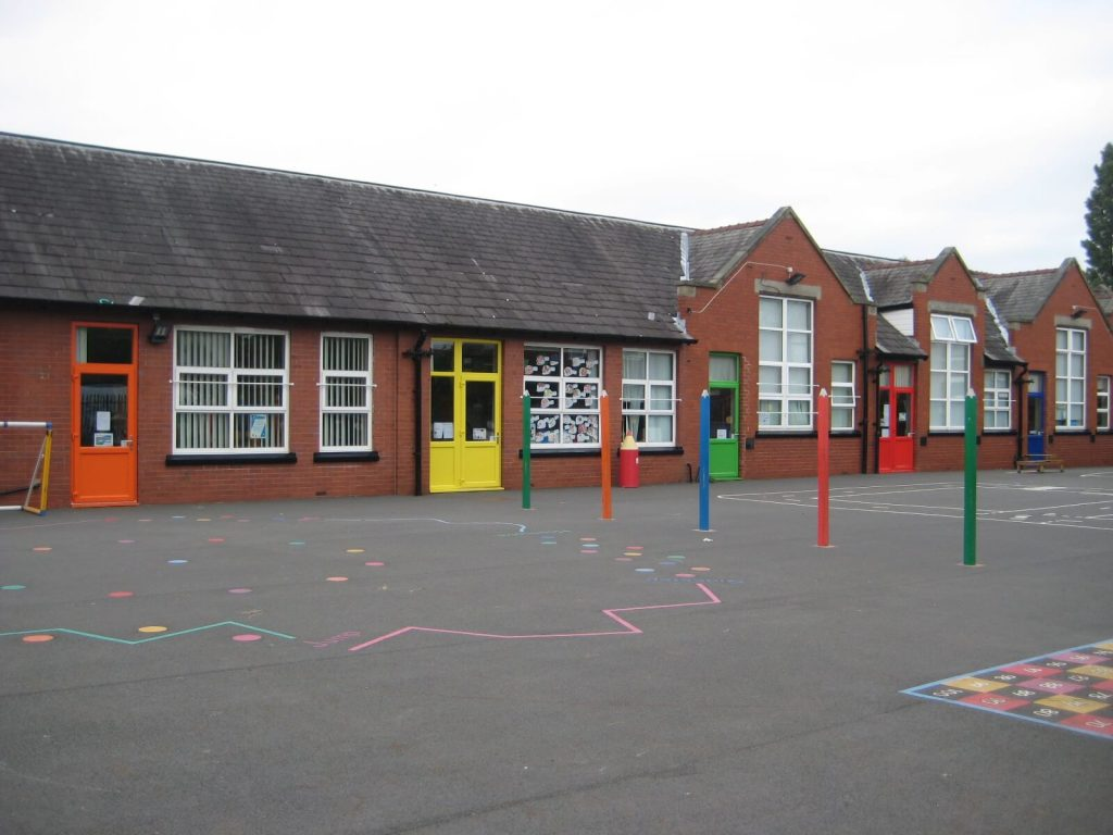 Higher Failsworth school door replacements