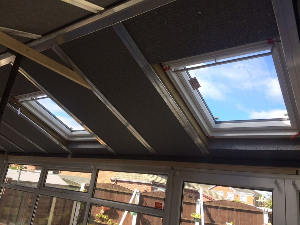 Supalite tiled roof roof windows
