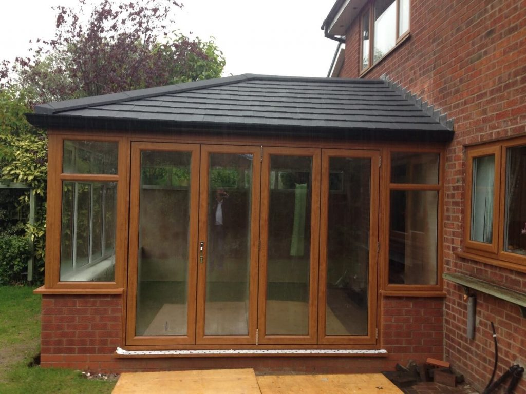 Tiled roof conservatory in Rochdale