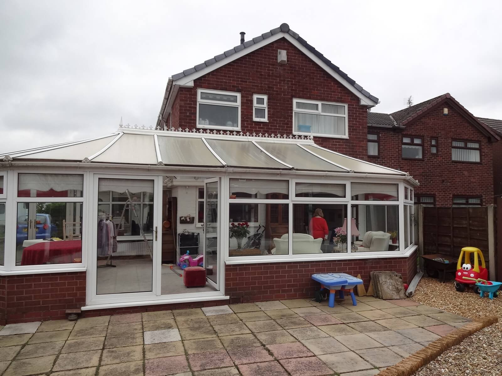 Conservatory roof replacement in Ashton under Lyne (before)