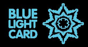 Blue Light Card main logo