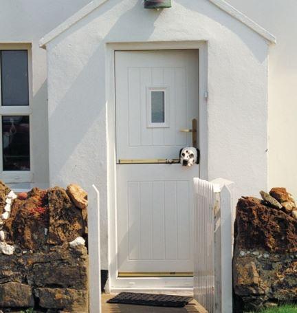 rockdoor white composite door