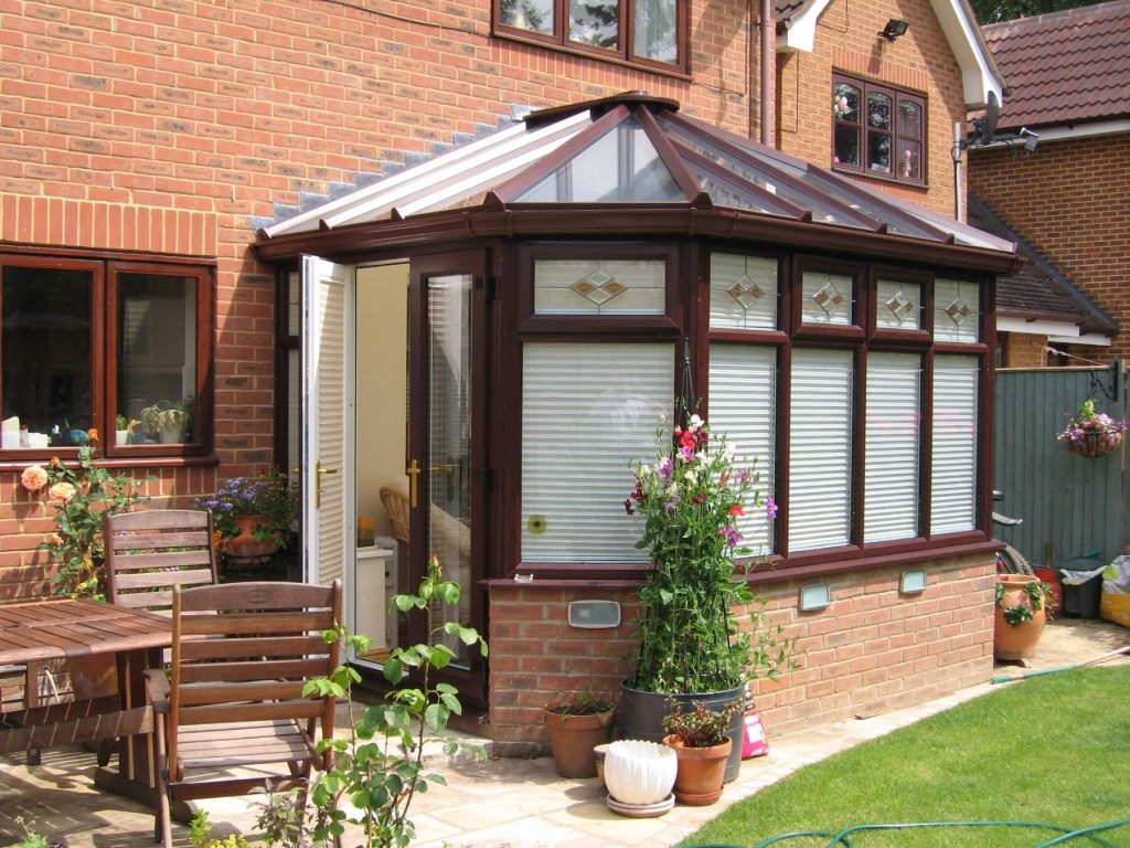 Rosewood new build conservatory