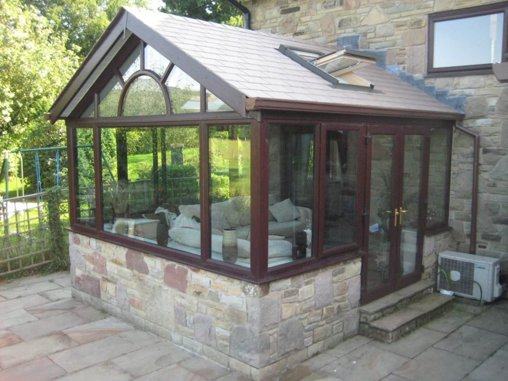 retrofitted tiled warm roof